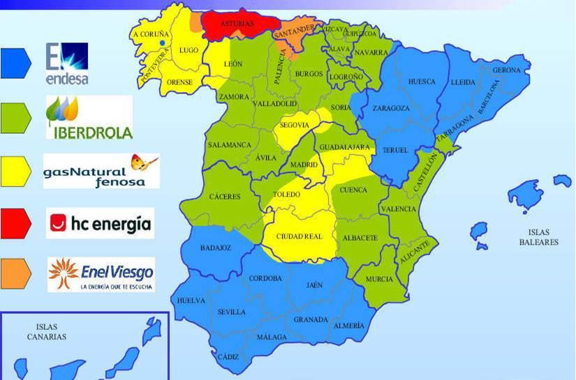 Mapa electrico